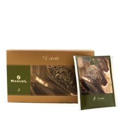 Herbata zielona w saszetkach Manuel Caffé Verde, 20 szt.