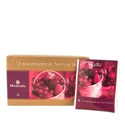Herbata w saszetkach Manuel Caffé Owoce leśne, 20 szt.