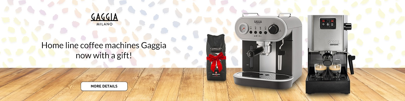 Coffee machines Gaggia with gift